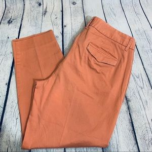 JCrew | Chino Curvy Fit  Ankle Pants Size 12